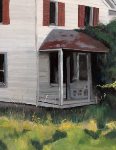 "Someone is at the front door, 2008 | 30"" x 24"" Oil on Canvas"