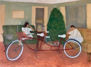 Christmas AM, 2020 | 30x40 Oil on canvas