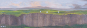 "Do You Have Remote Access?, 2009 | 10"" x 30"" Oil on Canvas"