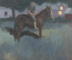 """Goldie"", 2012 | 24"" x 20"" Oil on Canvas"