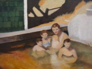 "Lake Dunmore, 2011 | 12"" x 16"", Oil on Panel"