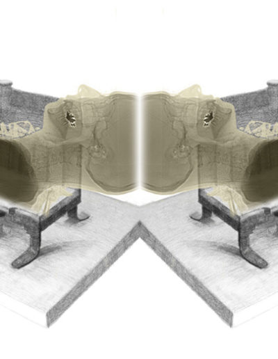 "Tool Head Mirror, 2012 | 12""x26"", Archival Pigment Print"